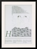 Two Boys Aged 23 or 24 Prints by David Hockney