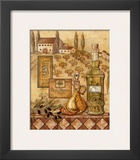 Flavors of Tuscany I Print by Charlene Audrey