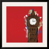 Big Ben Framed Giclee Print by Brian Nash