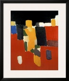 Footballers Prints by Nicolas De Staël
