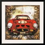Ferrari Prints by Sergio Lombardino