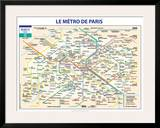 Métro De Paris Poster by  Ratp
