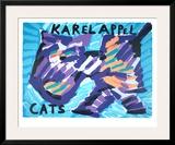 Gatos Posters por Karel Appel