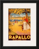 Rapallo Posters by Riviera Ligure