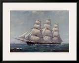 McKay Racer, Sovereign of the Seas Prints by Frank Vining Smith