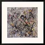 Number 18, 1950 Art by Jackson Pollock