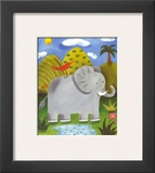 Nellie the Elephant Prints by Sophie Harding