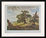 Oak Trees on the Seashore Posters by Carl Gustav Carus