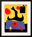 Femme Assise Art by Joan Miró