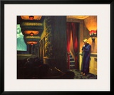 New York Movie Framed Giclee Print by Edward Hopper