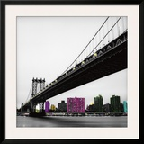 Manhattan Bridge Art by Anne Valverde