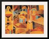 Il Giardino del Tempio Poster by Paul Klee