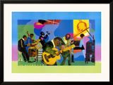 Jammin' at the Savoy Posters by Romare Bearden