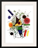 The Singer Print by Joan Miró