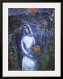 Le Couple Posters by Marc Chagall