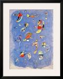 Sky Blue, c.1940 Print by Wassily Kandinsky
