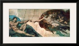 Creation of Adam Prints by  Michelangelo Buonarroti