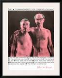 The X Commandments For G & G Poster by  Gilbert & George