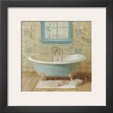 Victorian Bath I Print by Danhui Nai