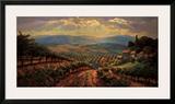 Tuscany Splendor Poster by Leon Roulette