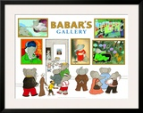 Babar's Gallery Posters by Laurent de Brunhoff