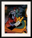 The Lesson Print by Pablo Picasso