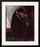 The Kiss, 1897 Prints by Edvard Munch