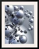 Silver Orbs Prints by Trevor Scobie
