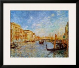 Grand Canal Venice Posters by Pierre-Auguste Renoir