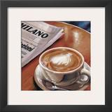 Cappuccino al Bar Posters by Federico Landi