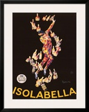 Isolabella, 1910 Prints by Leonetto Cappiello