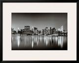 New York, New York, Manhattan East Side Print by Henri Silberman