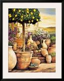 Lemon Topiary Print by Eduardo Moreau