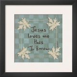 Jesus Loves Me Prints by Karen Tribett