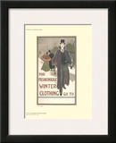 For Fashionable Winter Clothing Prints by Louis J. Rhead