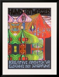 Kreative Architecture Art by Friedensreich Hundertwasser