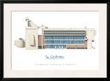 Sainte Marie de La Tourette, Lyon Prints by  Le Corbusier