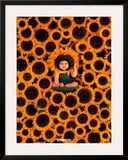 Sunflower Wall Prints by Anne Geddes