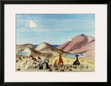 Herd of Goats at Naxos Prints by Richard Seewald