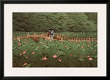 Benton Shrine Prints by Kawase Hasui
