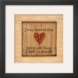 I Have Learned Prints by Karen Tribett