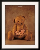 Campbell with Bear Posters by Anne Geddes