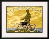 La Motosacoche Framed Giclee Print by Francois-Louis Schmied