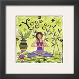 Yoga Girl Posters by Jennifer Brinley