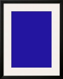 Untitled, Blue Monochrome, c.1961 (IKB73) Poster by Yves Klein