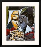 Tete d'une Femme Lisant Posters by Pablo Picasso