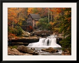 Glade Creek Mill, West Virginia Print