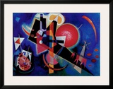Blue Posters by Wassily Kandinsky