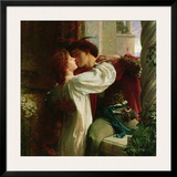 Romeo and Juliet, c.1884 Prints by Frank Bernard Dicksee
