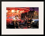 Legendary Crossroads Print by Chris Consani